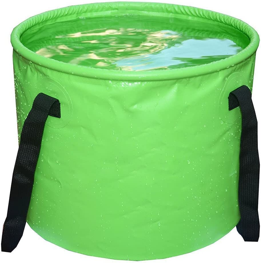Versatile Space-saving for Holidays Garden Outdoor Home-Neat Compact 25 L Collapsible Folding Bucket Water Container| robust foldable Fishing /& Camping