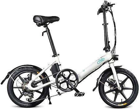 JAEJLQY Velocidad Variable Bicicleta eléctrica tamaño de la Rueda ...