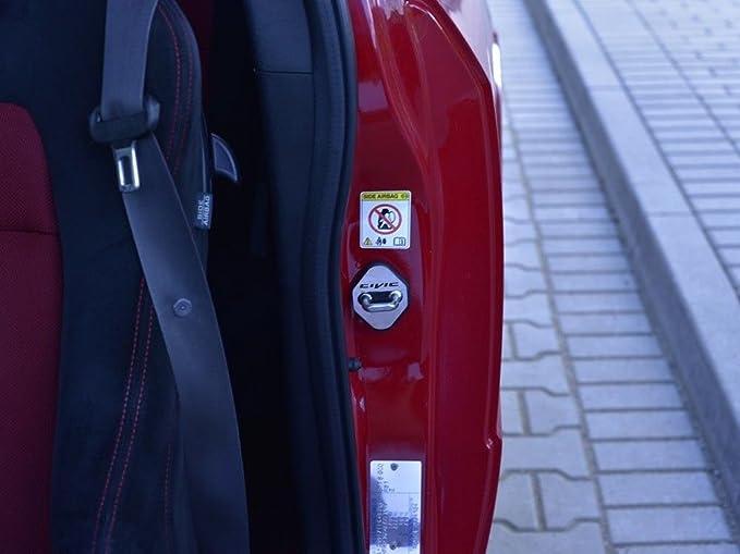 2 Pezzi Copribracciolo Sedile conducente//passeggero in Pelle Microfibra Rosilesi Copribracciolo
