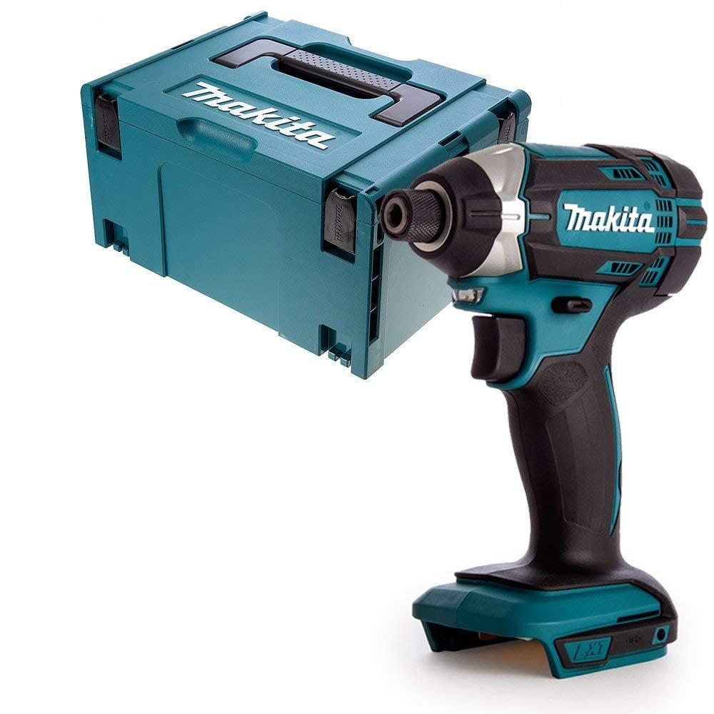 Makita DTD152Z LXT 18v Li-Ion Cordless Impact Driver Body with 821551-8 Case & Inlay, 18 V
