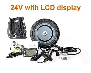 Amazon.com: Motor de 350 W 8 inch patinete eléctrico ...