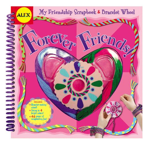 Forever Friends: My Friendship Scrapbook & Bracelet Wheel (Alex Toys)