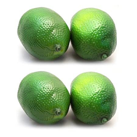 Bestim Incuk 10 Pack Artificial Fake Lemons Limes Fruit For Vase