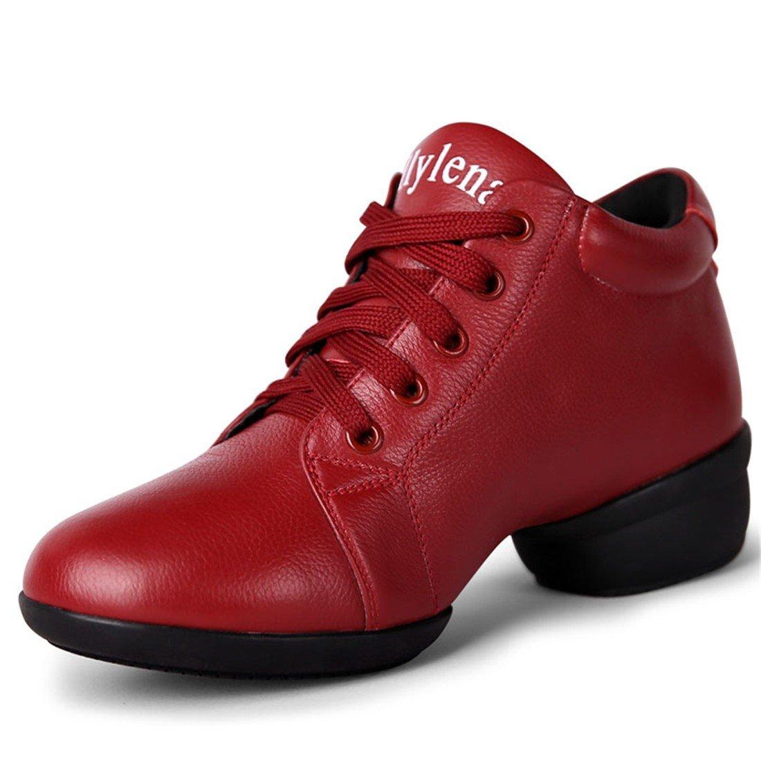 WXMDDN Das Mädchen Marine Mann Mann Mann Dance Schuhe rote Schuhe atmungsaktiv unten Dance Schuhe Vier Jahreszeiten B078819HKF Tanzschuhe Neuer Eintrag c1bcd5