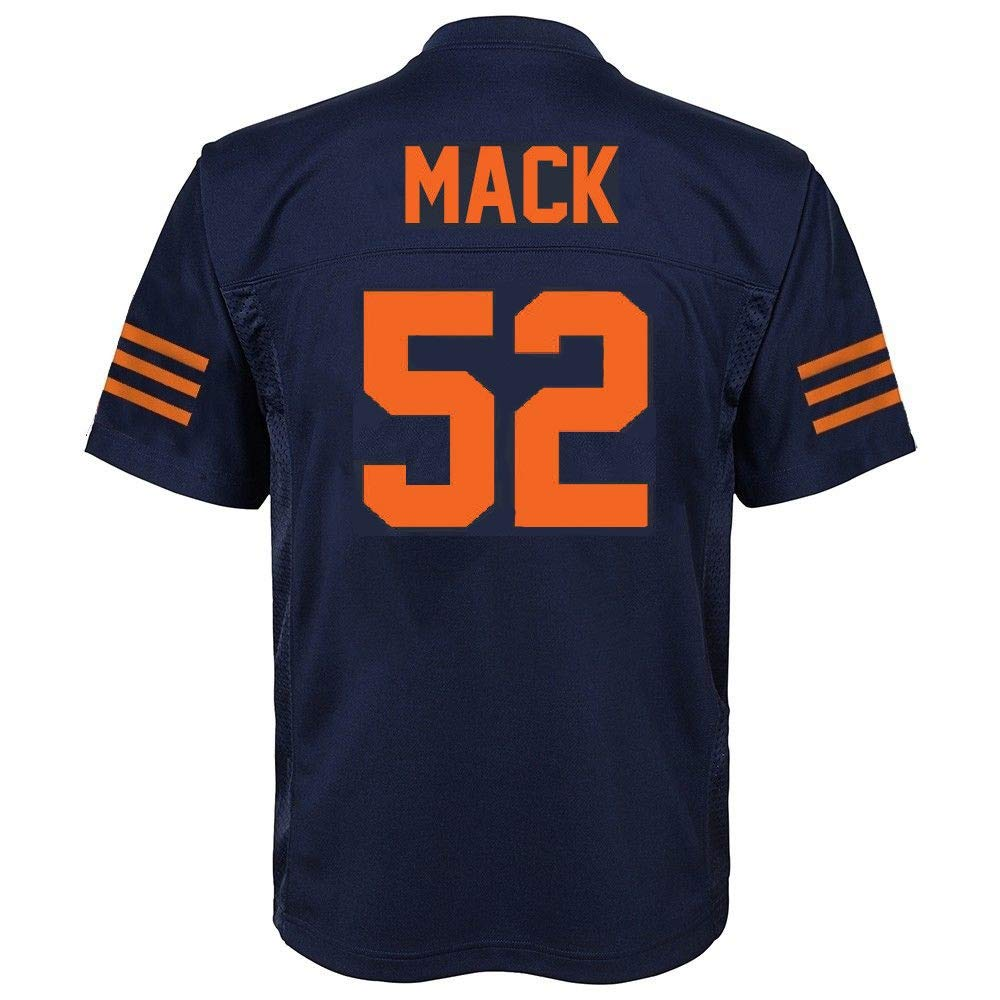 Amazon.com   Outerstuff Khalil Mack Chicago Bears  52 Youth Mid-Tier Jersey  Navy   Sports   Outdoors 024555454