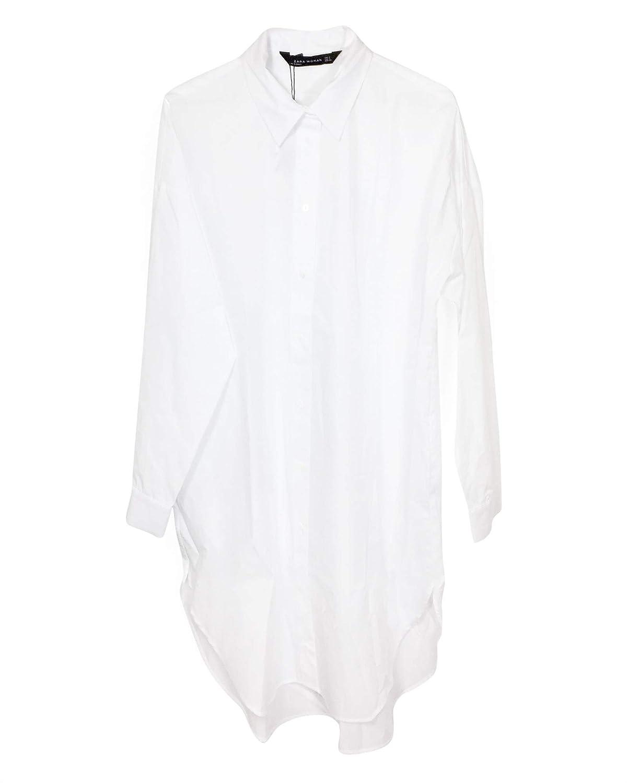 10b1be6623 Amazon.com  Zara Women Oversized poplin Shirt 9479 261  Clothing