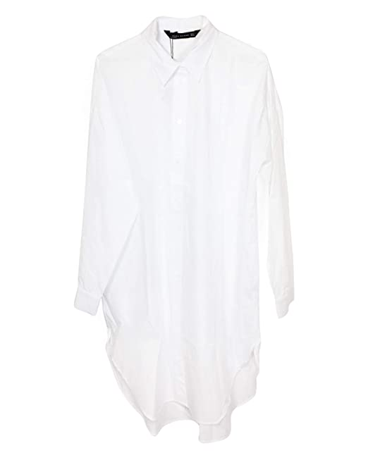46c429f9047a6 Zara Women s Oversized poplin Shirt 9479 261  Amazon.co.uk  Clothing