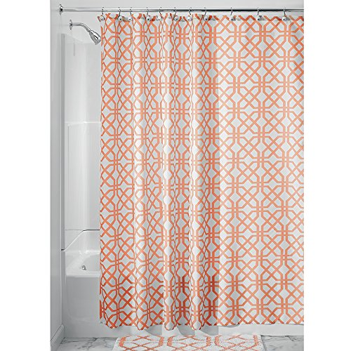 InterDesign Trellis Fabric Shower Curtain