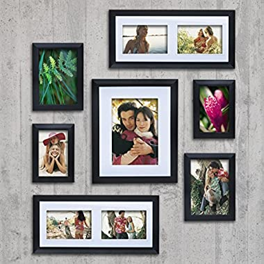 Philip Whitney Black Picture Frame Set (set of 7)