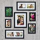 Black Picture Frame Set (set OF 7)