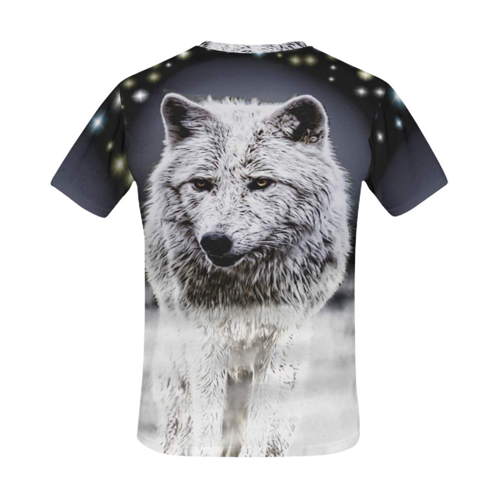 Moonshine Wolf All Over Print t-Shirt