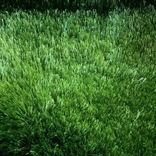 USTIDE Green Sunflower Area Rug 3D Flower Rug Super Soft Bedroom Floormat, 35x35