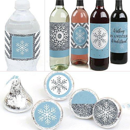 Winter Wonderland - Winter Wedding Party Decorations - Trio Sticker (Winter Decal Set)
