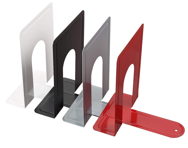 4 Coppie Fermalibri en ferro 15 x 21.5 cm Reggilibri per mesole NEUN WELTEN