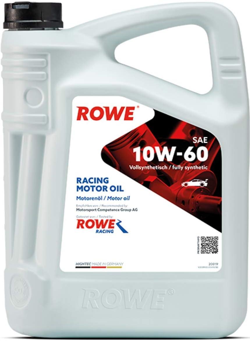Rowe Hightec Racing Motor Oil Sae 10w 60 5 Liter Auto