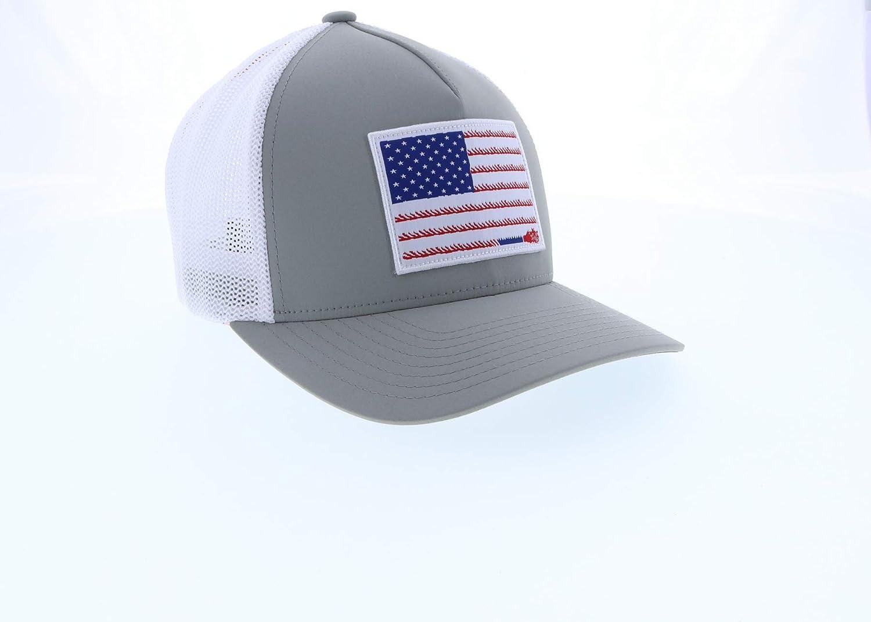 HOOEY Mens Liberty Roper Flag Patch Cap