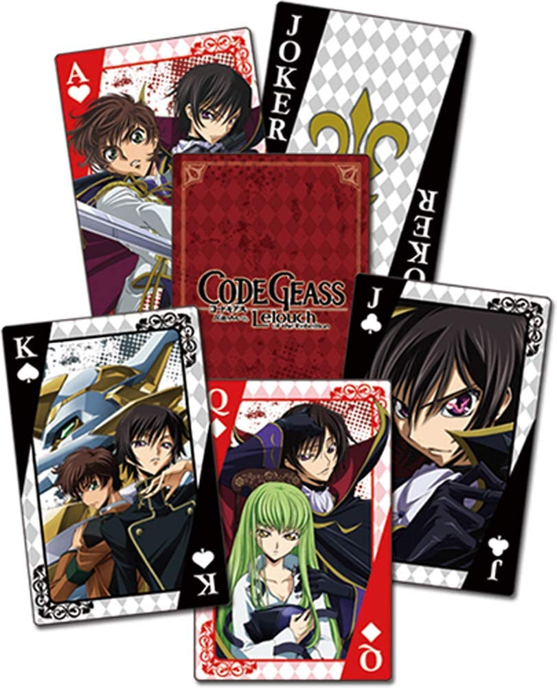 Great Eastern Entertainment Code Geass Lelouch of The Rebellion Group Playing Cards