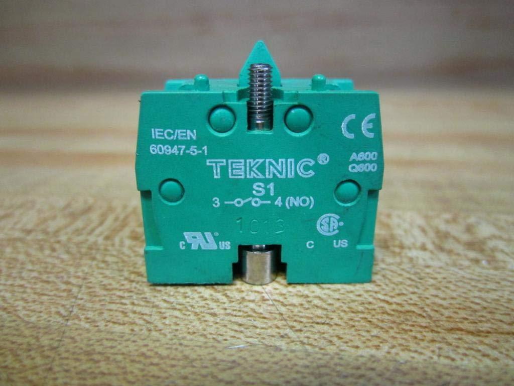 Teknic S1 Contact Block (Pack of 2): Amazon com: Industrial