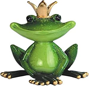 StealStreet SS-G-61163 Individual Green King Frog Figurine