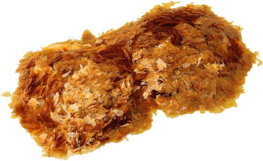 Yibuy Super Blonde Shellac Flakes Alrededor de 87 g//bolsa para adhesivo o revestimiento