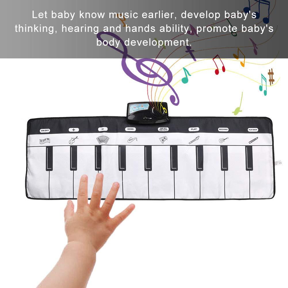 Zerodis Baby Kids Piano Mat Children Crawling Musical Carpet Educational Musical Toy Gift for Children by Zerodis (Image #5)