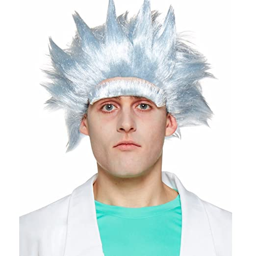 Spirit Rick and Morty Rick Sanchez Wig and Unibrow Kit