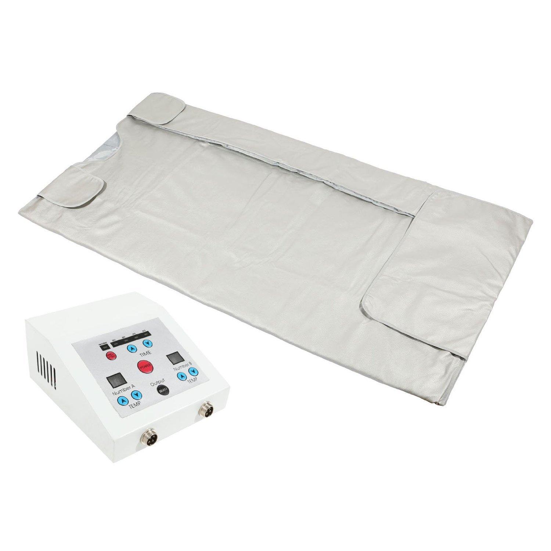 Gizmo Supply Sauna Blanket Far Infrared FIR Sauna Blanket 2 Zones Spa 4019A Sauna Machine (4019A 2 Zone)