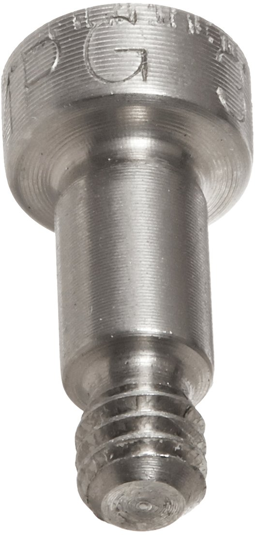 Plain Finish #10-32 Threads Socket Head Cap Hex Socket Drive Meets ASME B18.3 1//4 Shoulder Length 1//4 Shoulder Diameter Standard Tolerance Made in US, Pack of 1 1//4 Thread Length 18-8 Stainless Steel Shoulder Screw Partially Threaded
