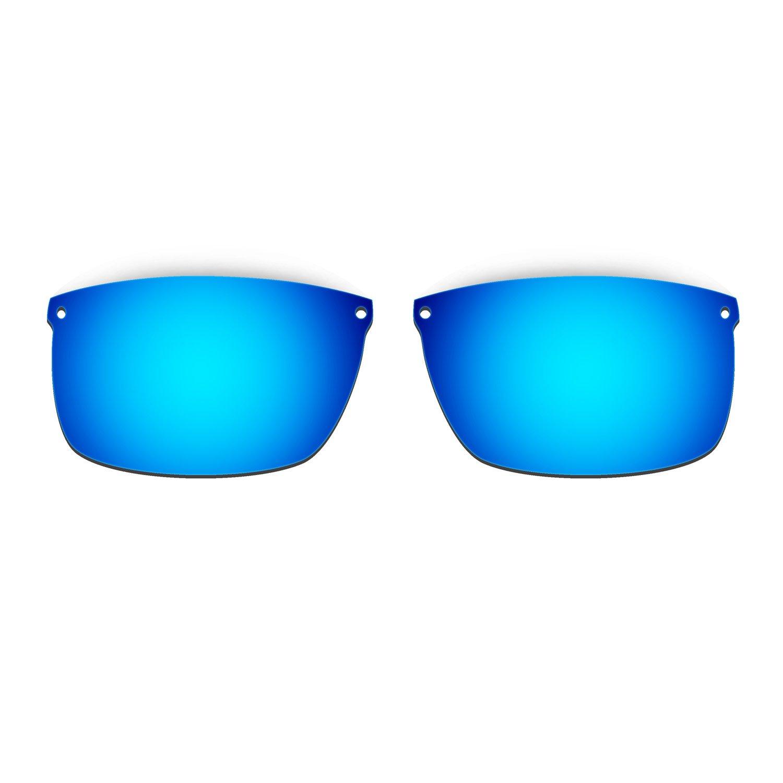 HKUCO Mens Replacement Lenses For Oakley Carbon Blade Sunglasses Blue/Black Polarized 53poWvKo