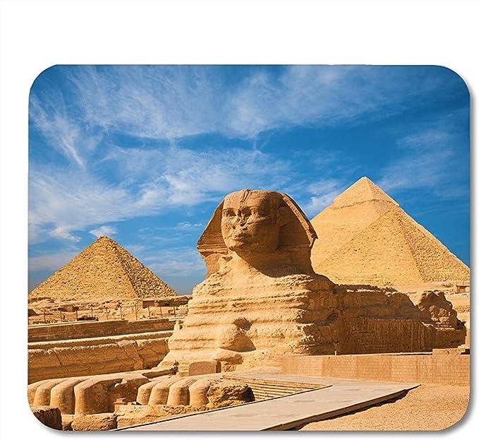 AllenPrint Gran Esfinge egipcia Retrato de Cuerpo Completo Pies de Cabeza Todos los Cojines Antideslizantes de Moda de Primera Calidad 25x30 cm: Amazon.es: Electrónica