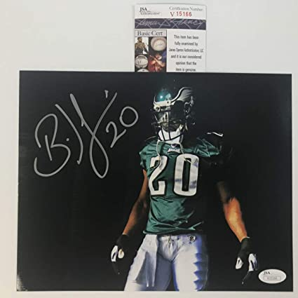 watch 50b79 8b179 Autographed/Signed Brian Dawkins Visor Philadelphia Eagles ...