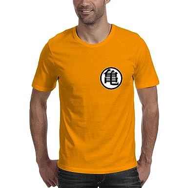 Dragon Ball Z Kame Symbol Mens Round Neck Premium Cotton T Shirt