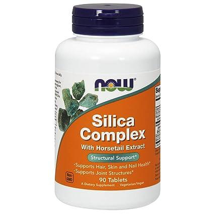 SILICA COMPLEX 500mg - Complejo a base de extracto de cola de caballo, silicio y