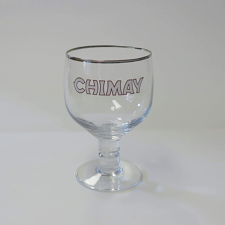 Chimay 330ml Transparente jarra de cerveza, Cristal
