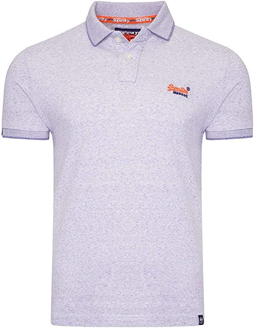 Superdry Polo Orange Label Jersey: : Sports et Loisirs