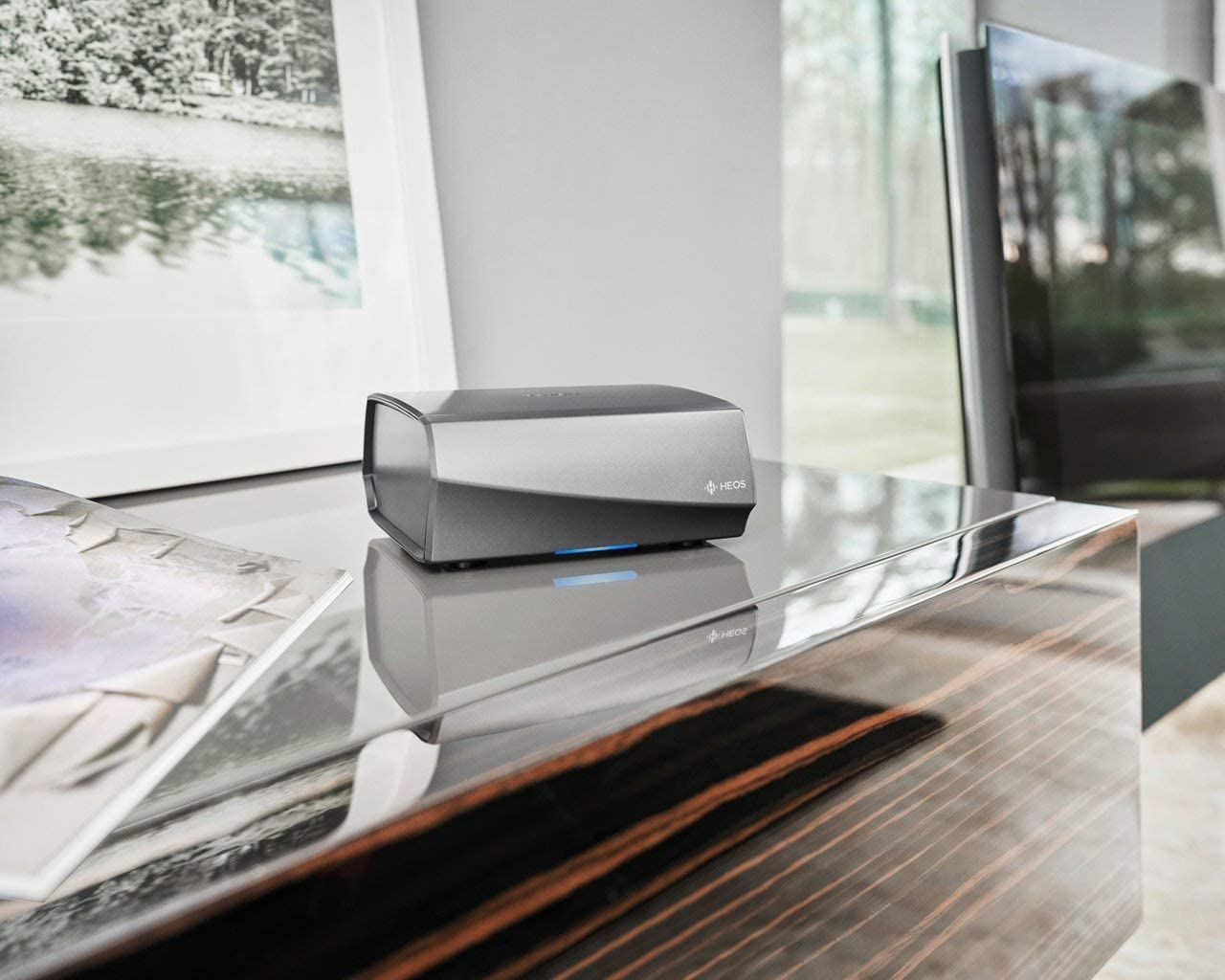 Denon HEOS Link HS2 Wireless Pre-Amplifier Renewed
