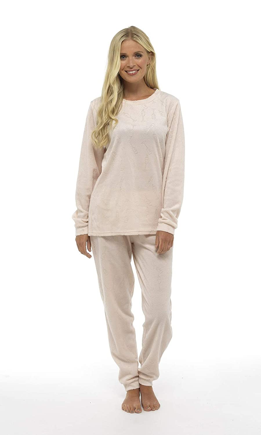 CityComfort Womens Pyjamas Set Pyjama for Women Pjs Sets Womens Loungewear Super Soft Lounge Wear Prosecco Star Feather