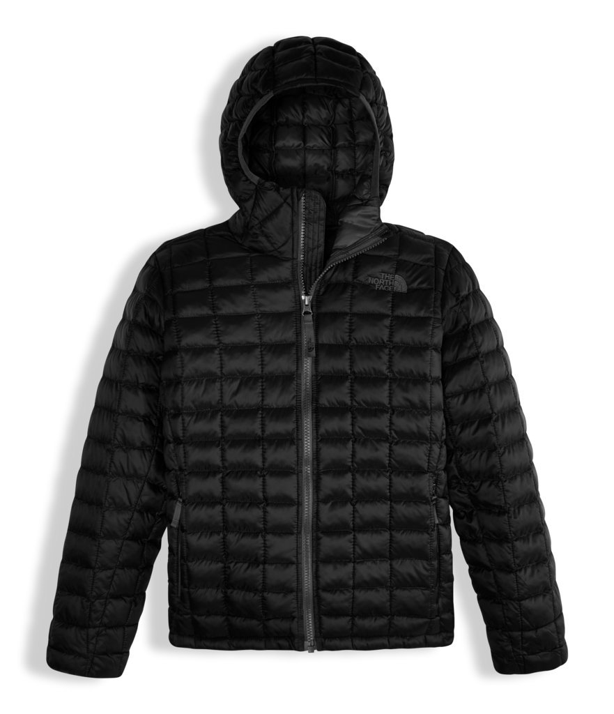 The North Face Boys Thermoball Hoodie Black (Medium)