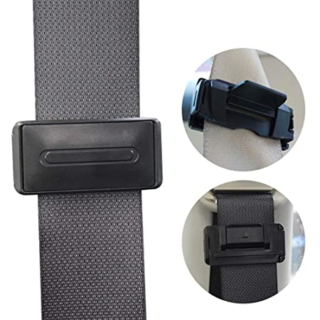 Aolvo Car Seat Belt Adjuster For Adults Kids Universal Clip RV