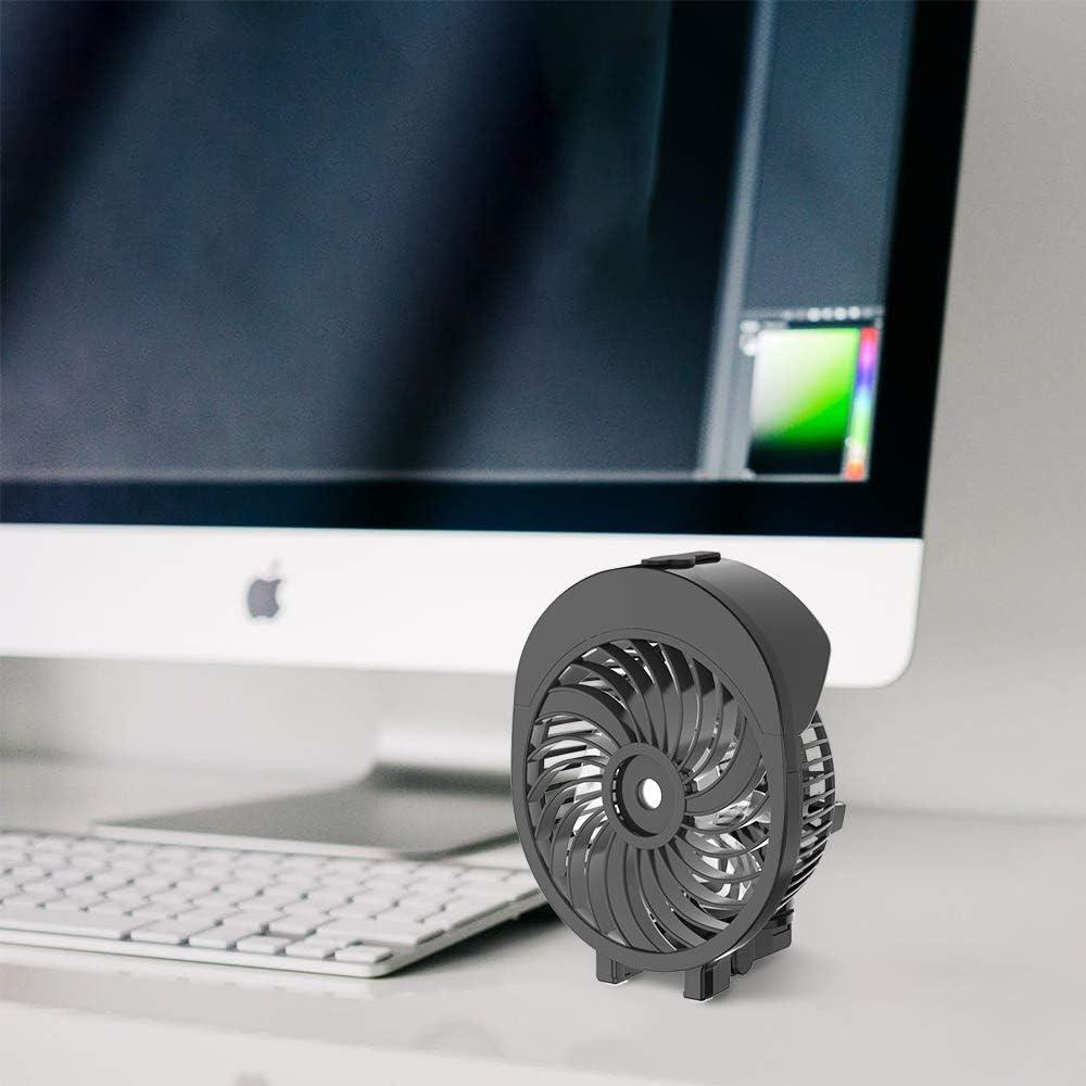 HandFan Ventilateur Brumisateur Main Ventilateur d/'Atomisation Portatif Ventilateur Pliable USB Rechargeable Pliable Brumisateur Refroidisseur pour Voyage//Camping//ext/érieur