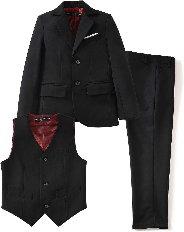 SET OF 3-10/% Disc Boy Suit Boy Suspender Shorts Boy Linen Suit,Page Boy,Ring bearer Boy Wedding Outfit,Linen Outfit 3 x 3pcs Navy