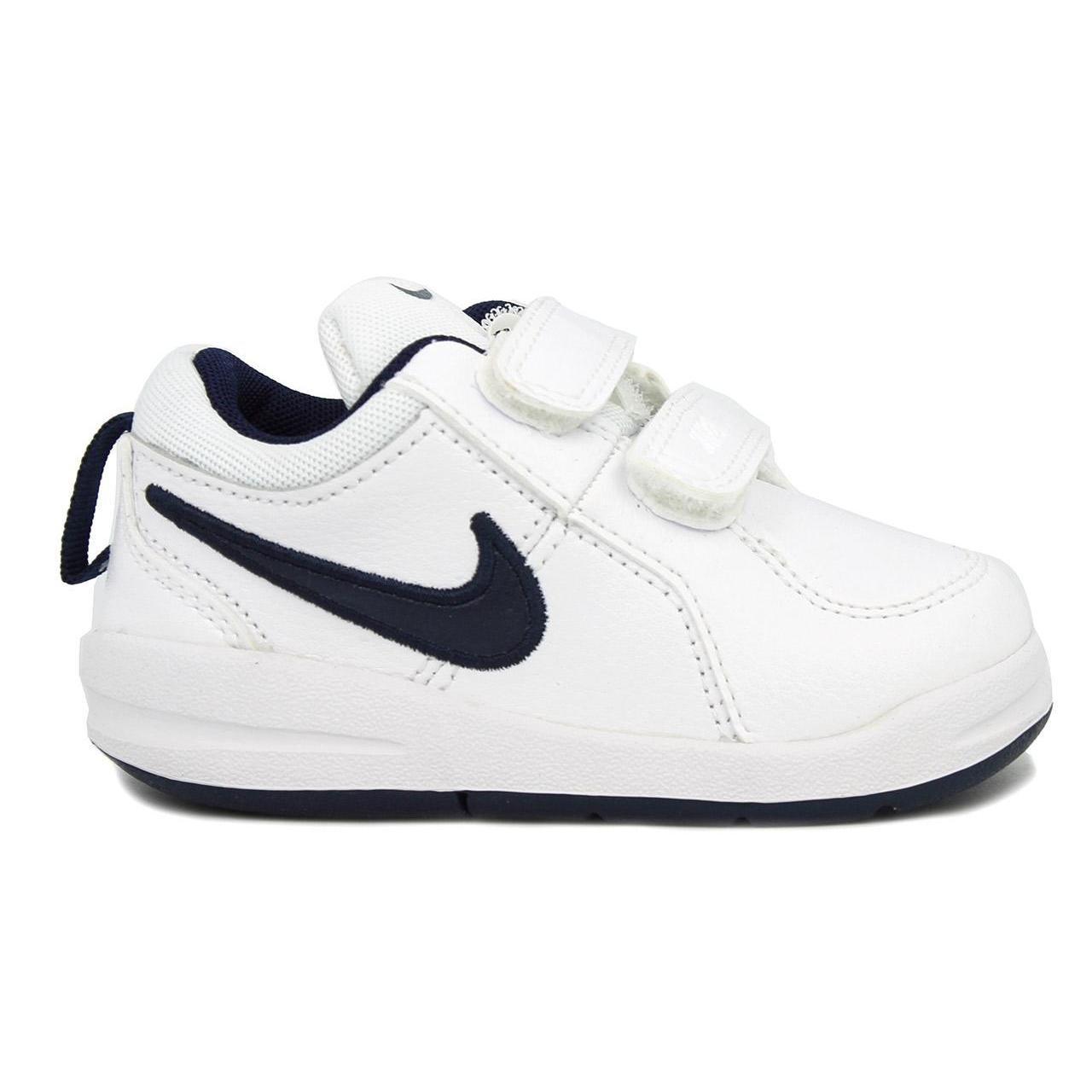 Amazon.com | Nike PICO 4 (TD) (BOYS TODDLER) (7) White/Midnight Navy | Sneakers