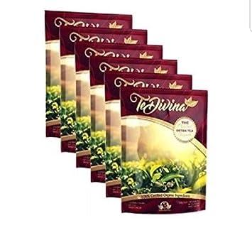 6 semanas Vida Divina Tea+Ignite Digestive Enzymes+Mix Vida ...