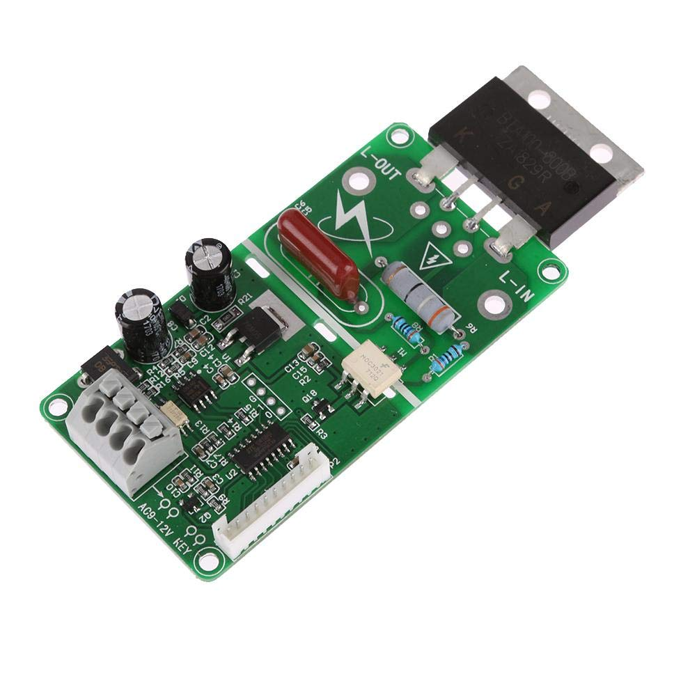 Prosperveil-Panel de control digital del módulo de controlador de corriente DIS del tiempo de soldadura por puntos de 100 A: Amazon.es: Industria, ...
