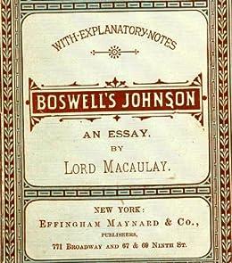 Macaulay essays