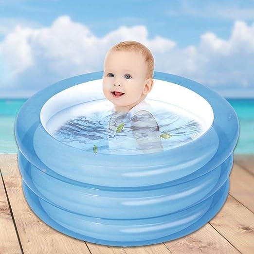 SunniY Piscinas Hinchables Infantiles Bebe Playa 70 × 30cm Redondo ...