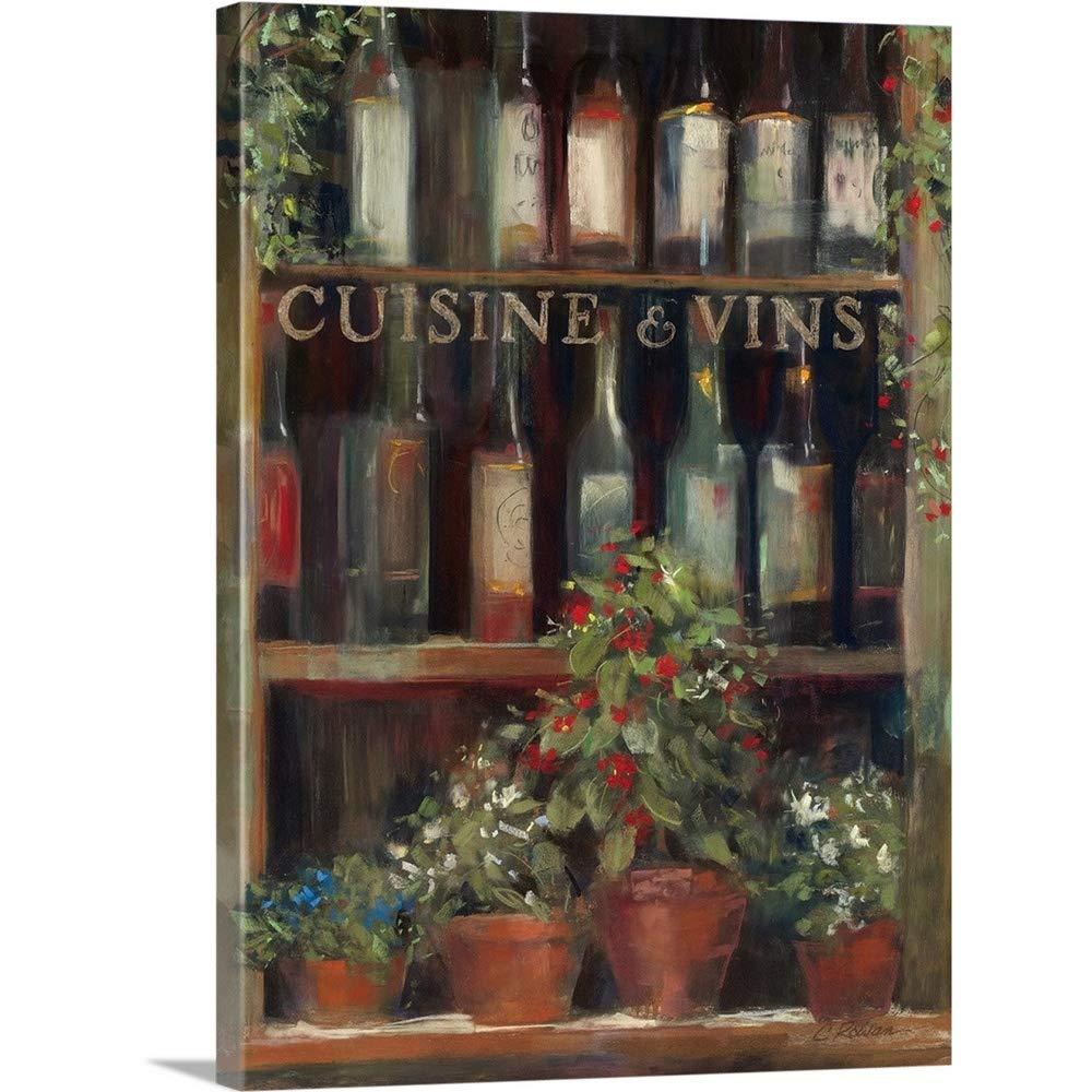 Carol Rowanプレミアムシックラップキャンバス壁アート印刷題名ワインとハーブII 18