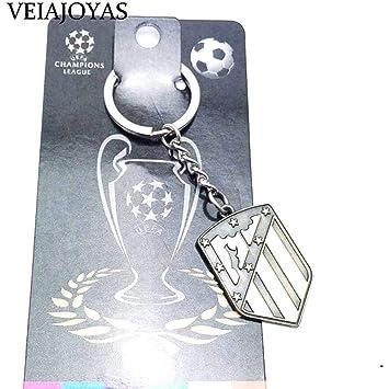Mythingsnstuff Llavero del Atlético de Madrid FC: Amazon.es ...