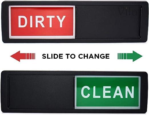 Letrero limpio / sucio con imán para lavaplatos, aparato de cocina ...