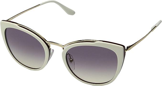Amazon.com: Prada PR 20US - Gafas de sol para mujer, Blanco ...
